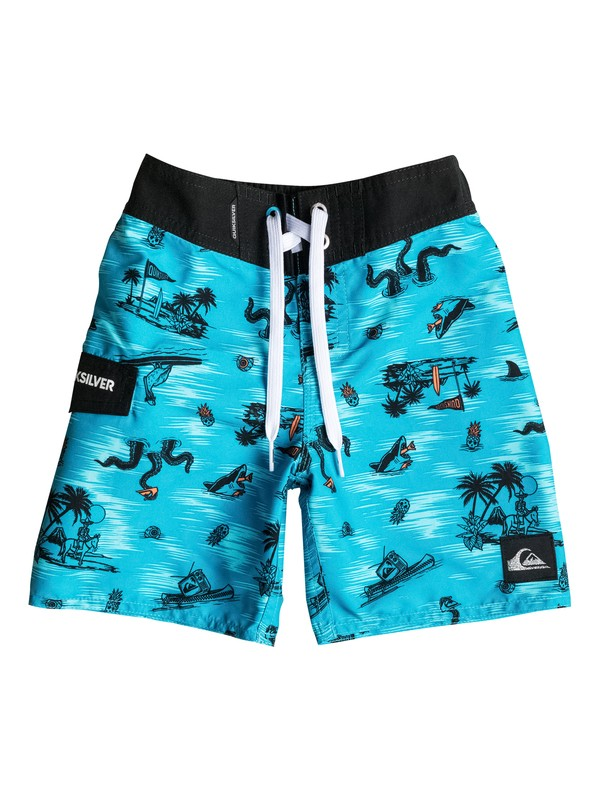 "0 Boys 4-7 In Water 19"" Boardshorts  AQKBS03042 Quiksilver"