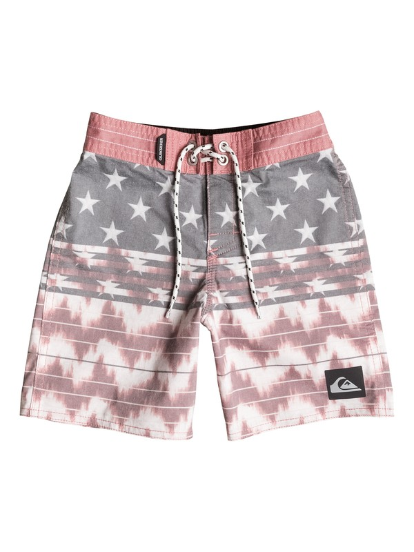 "0 Boys 2-7 Swell Americana 19"" Boardshorts  AQKBS03047 Quiksilver"