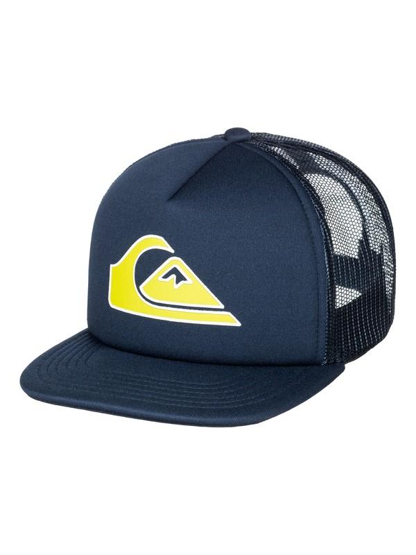0 Boys 2-7 Snapper Trucker Hat  AQKHA03081 Quiksilver