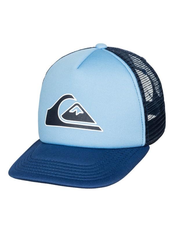 0 Boys 2-7 Snapper Trucker Hat  AQKHA03118 Quiksilver