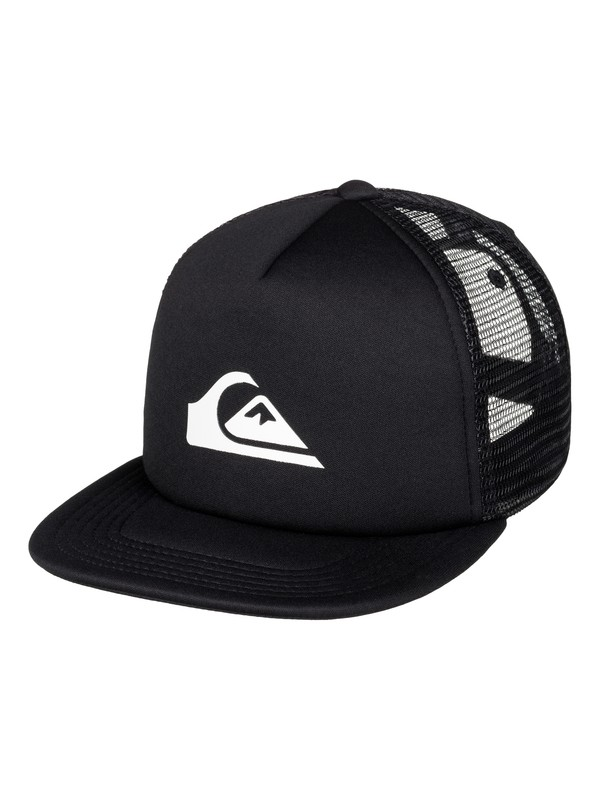 0 Boy's 2-7 Snap Addict Trucker Hat  AQKHA03120 Quiksilver