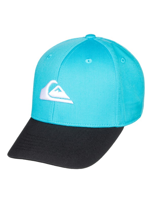0 Boy's 8-16 Decades Snapback Hat Blue AQKHA03151 Quiksilver