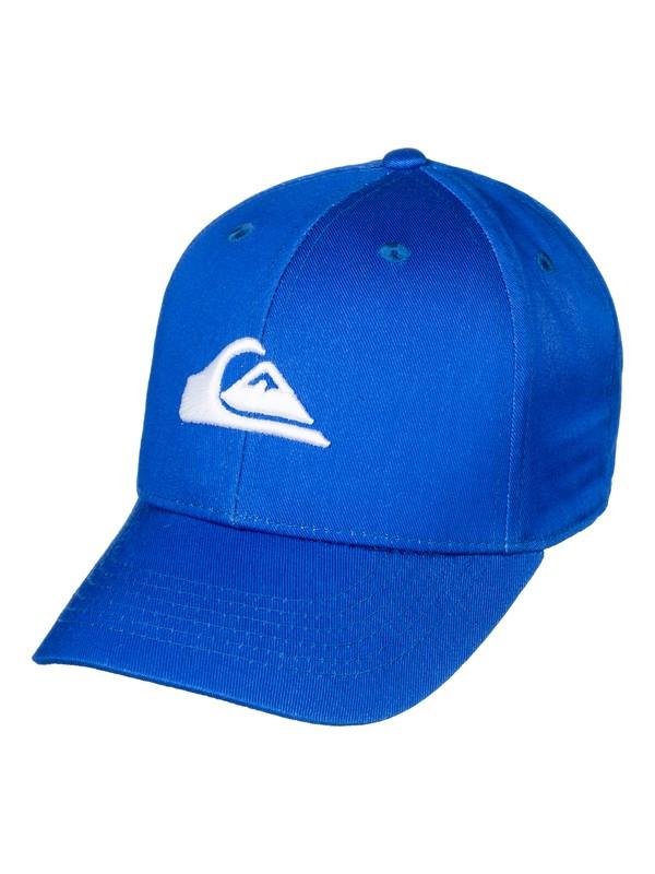 0 Decades - Snapback Cap Blue AQKHA03151 Quiksilver