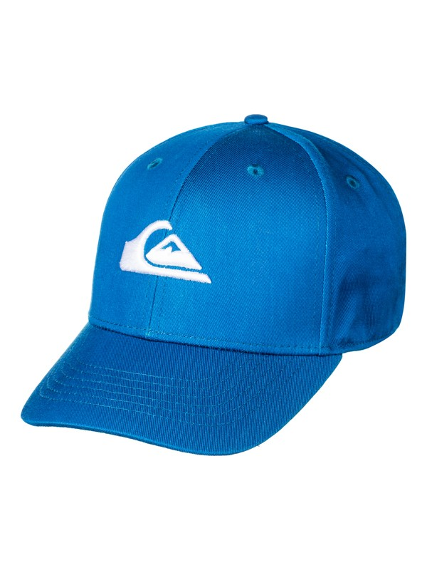 0 Boy's 8-16 Decades Snapback Hat Blue AQKHA03151 Quiksilver