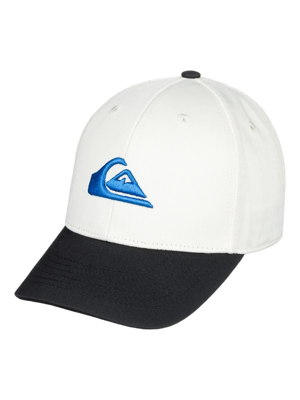 0 Boy's 8-16 Decades Snapback Hat White AQKHA03151 Quiksilver