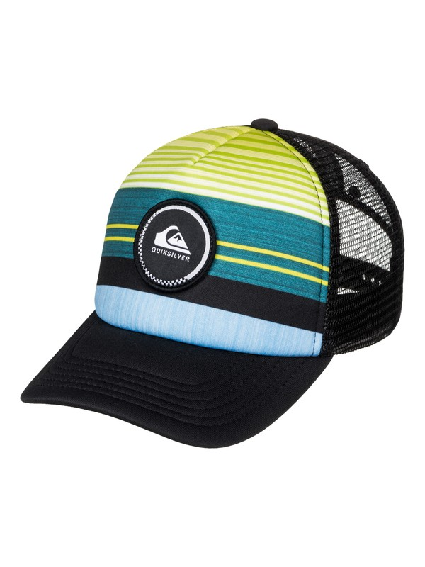 0 Striped Vee - Trucker Cap  AQKHA03153 Quiksilver