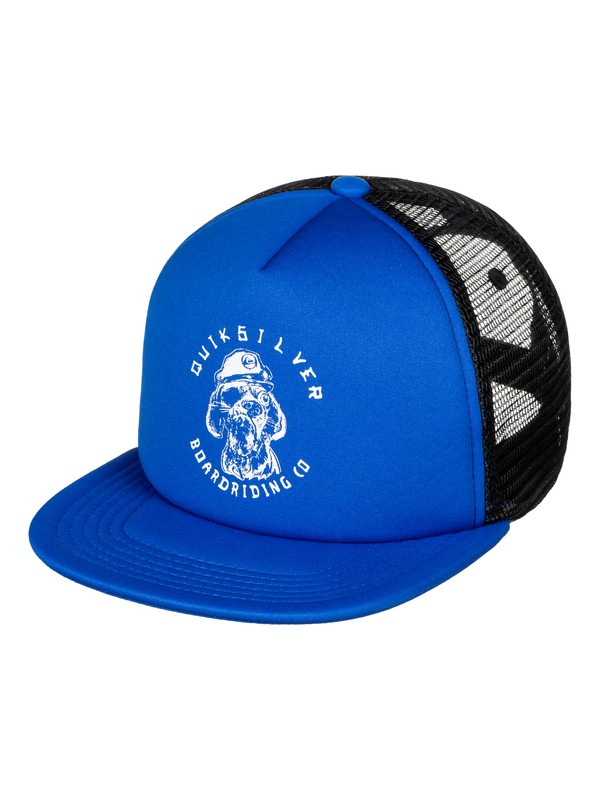 0 Boy's 2-7 Shifty Trucker Hat  AQKHA03165 Quiksilver