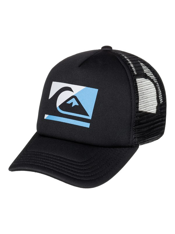 0 Boy's 2-7 Step Off Trucker Hat  AQKHA03173 Quiksilver