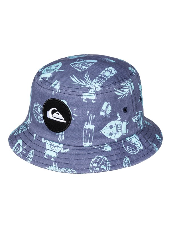 0 Boy's 2-7 Gunther Bucket Hat  AQKHA03176 Quiksilver
