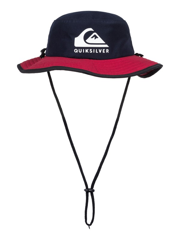 0 Boys 2-7 Real Gel - Bucket Hat Blue AQKHA03203 Quiksilver
