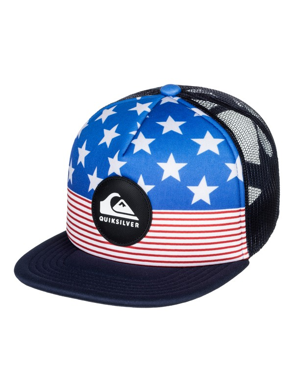 0 Gorra Trucker Faded Out  AQKHA03204 Quiksilver