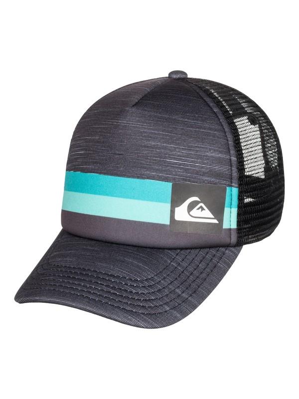 0 Boy's 2-7  Seasons Trucker Hat  AQKHA03211 Quiksilver