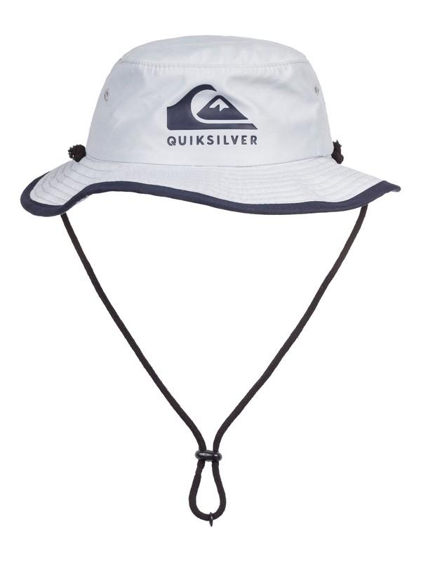 0 Boy's 2-7  Real Gel Bucket Hat Grey AQKHA03215 Quiksilver