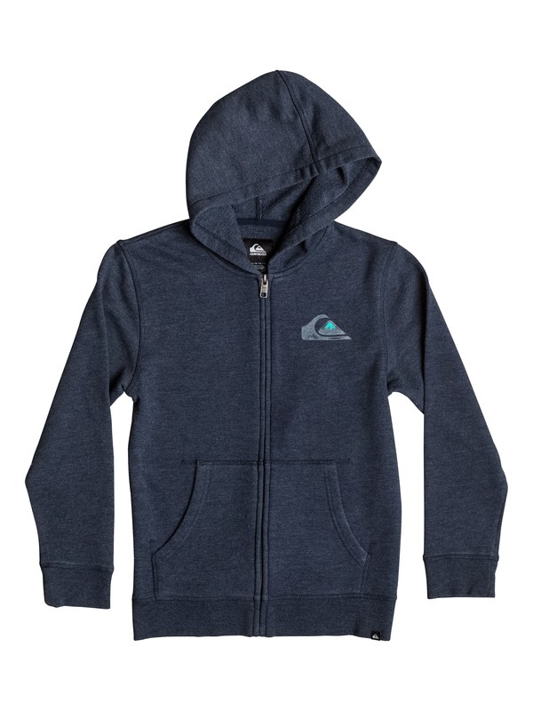 0 Boys 4-7 Sea Washed Zip-Up Hoodie  AQKJK03000 Quiksilver