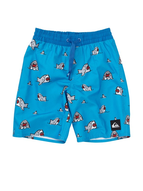 0 Boys 2-7 Sharkbait Volley Boardshorts  AQKJV00031 Quiksilver