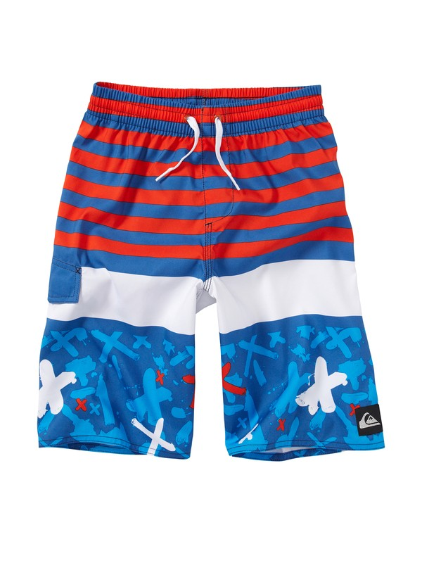 0 Boys 2-7 Way Out Volleys  AQKJV00045 Quiksilver