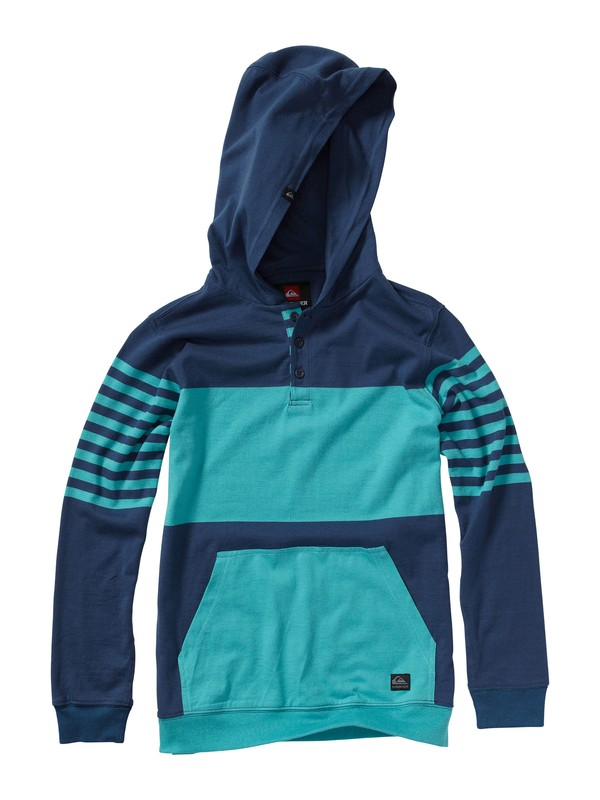 0 Boys 2-7 Game On Hooded Pullover  AQKKT00052 Quiksilver
