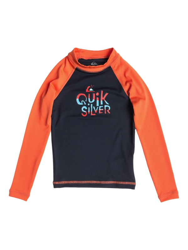 0 Boys 2-7 Free Play Long Sleeve Rashguard  AQKWR03004 Quiksilver