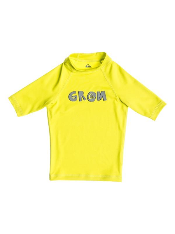 0 Boys 2-7 Grom Short Sleeve Rashguard  AQKWR03005 Quiksilver