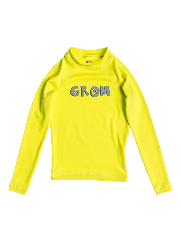0 Grom - Long Sleeve Rash Vest  AQKWR03006 Quiksilver