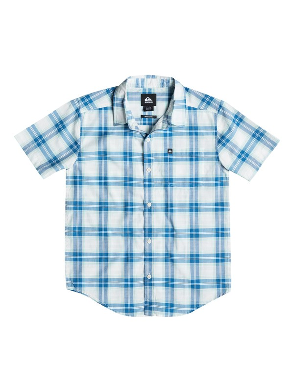 0 Boys 4-7 Major Pat Short Sleeve Shirt  AQKWT03002 Quiksilver