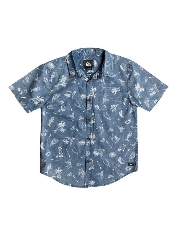 0 Doodle - Short Sleeve Shirt  AQKWT03003 Quiksilver