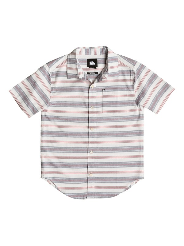 0 Boy's 4-7 Aventail Short Sleeve Shirt  AQKWT03006 Quiksilver