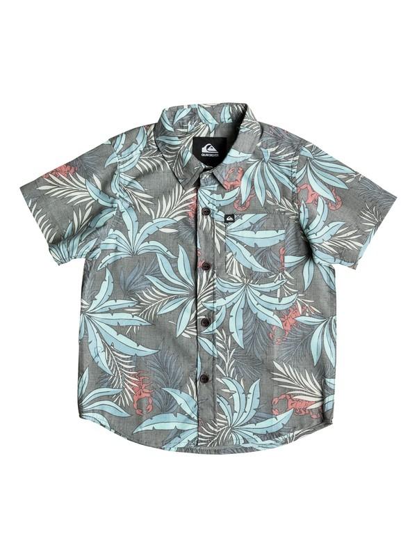 0 After Dark - Short Sleeve Shirt  AQKWT03009 Quiksilver
