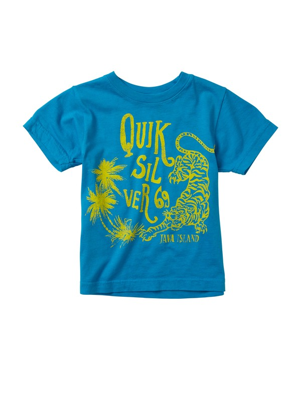 0 Boys 2-7 Java Cat T-Shirt  AQKZT00209 Quiksilver