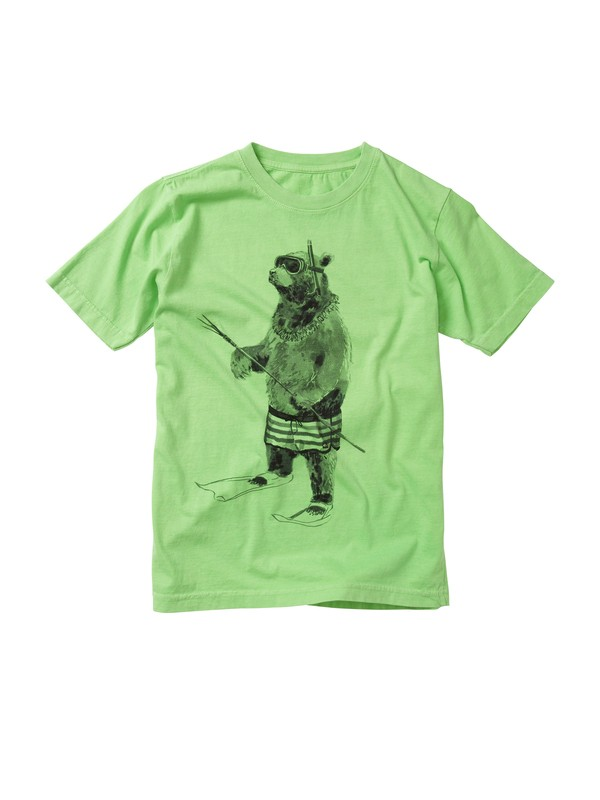 0 Boys 2-7 Island Bear T-shirt  AQKZT00210 Quiksilver