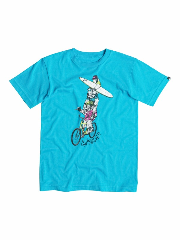 0 Boys 4-7 Monkey T-Shirt  AQKZT03041 Quiksilver