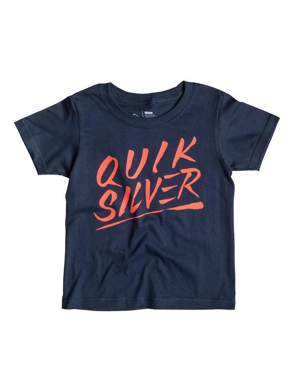 0 Boys4-7 Slash Script T-Shirt  AQKZT03056 Quiksilver