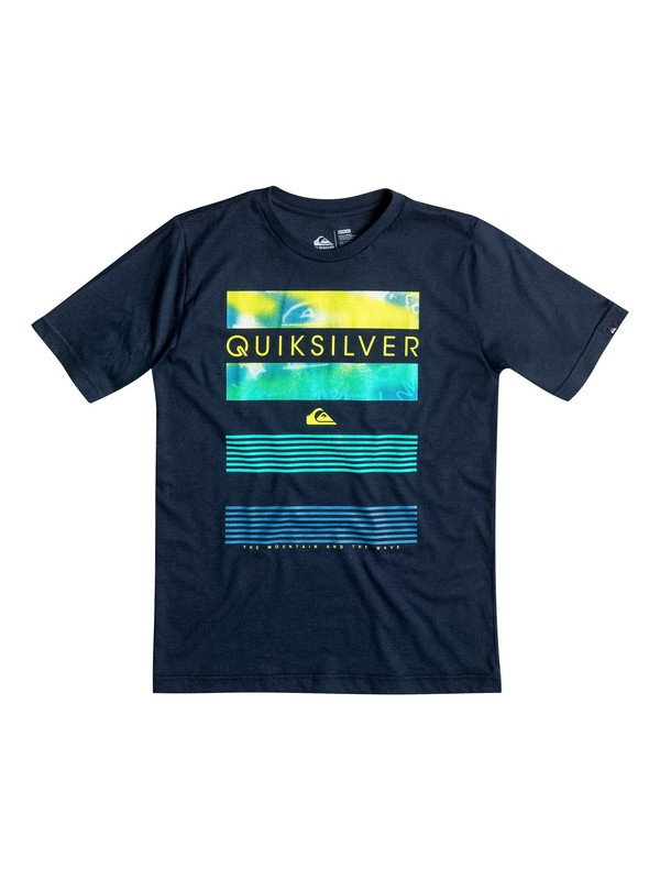 0 Boy's 2-4 Line Up T-Shirt  AQKZT03068 Quiksilver