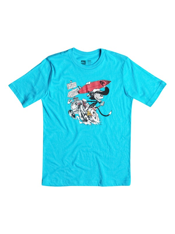 0 Surf Cat - T-Shirt  AQKZT03075 Quiksilver