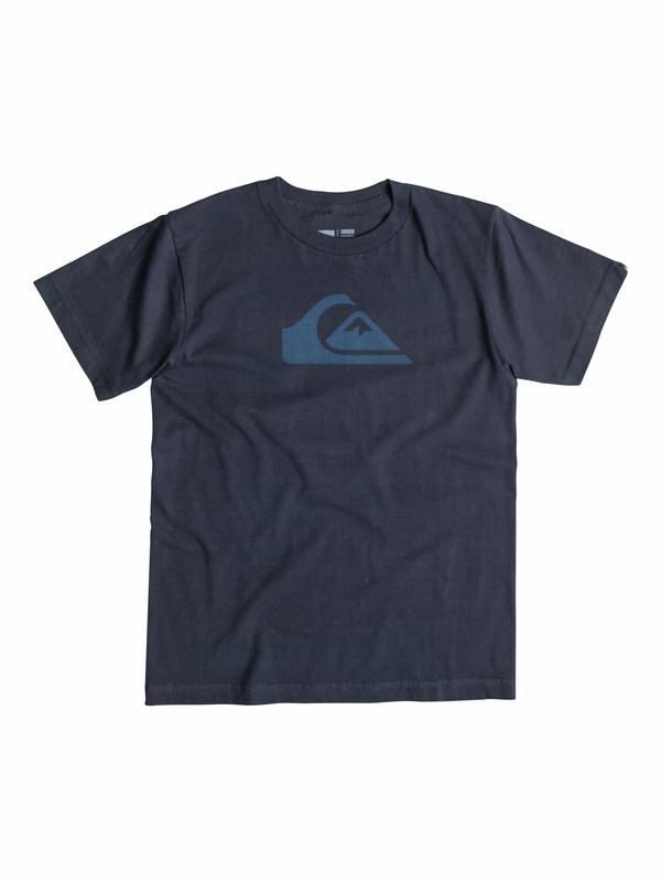 0 Everyday Logo Core - T-Shirt  AQKZT03091 Quiksilver