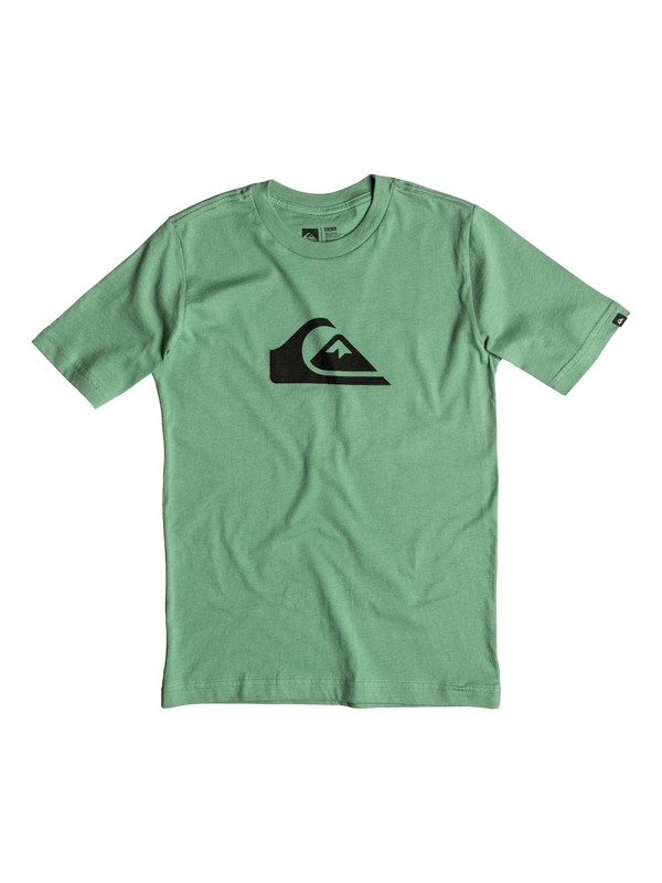 0 Boy's 2-7 Mountain & Wave Logo Tee  AQKZT03097 Quiksilver