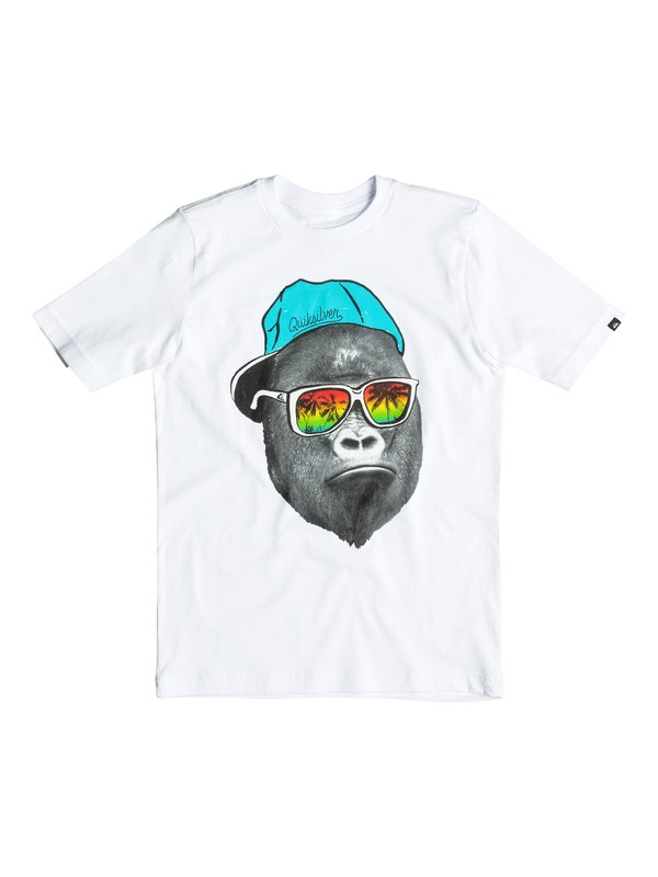 0 Boy's 8-16 Kong Business Tee  AQKZT03105 Quiksilver