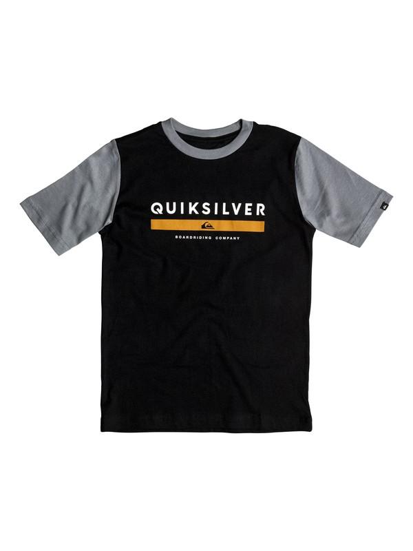 0 Boy's 8-16 Under Score Tee  AQKZT03121 Quiksilver