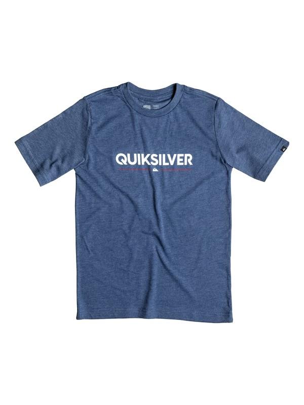 0 Boy's 8-16 Wordmark Tee  AQKZT03126 Quiksilver