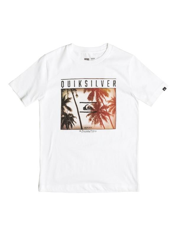 0 Boys 4-7 Perfect Location T-Shirt  AQKZT03145 Quiksilver