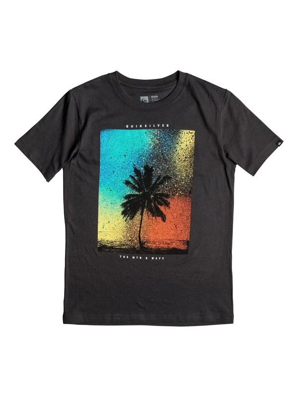 0 Boys 4-7 Spray Palm T-Shirt  AQKZT03159 Quiksilver