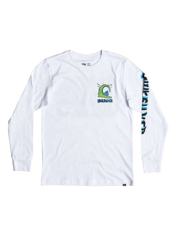 0 Niños 2-7 Camiseta Manga Larga  Action 1 Long  AQKZT03198 Quiksilver