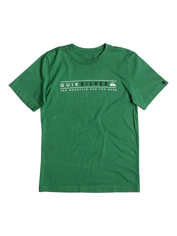 0 Niños 2-7  Camiseta Always Clean  AQKZT03205 Quiksilver