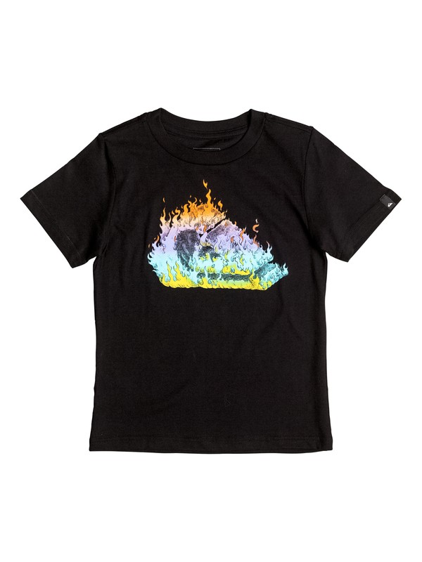 0 In Fire - T-Shirt  AQKZT03215 Quiksilver