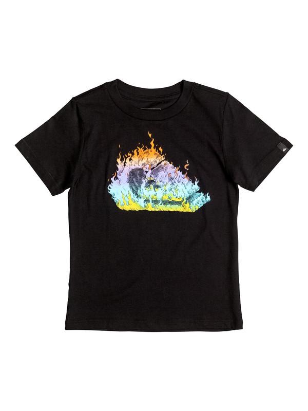 0 Niños 2-7 Camiseta  In Fire  AQKZT03215 Quiksilver