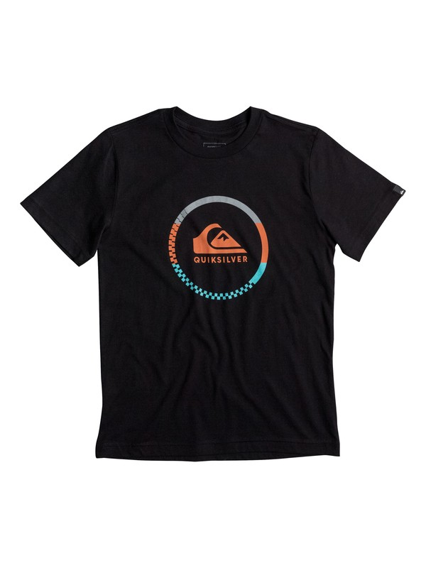 0 Boy's 2-7 Active Logo Blocked Tee  AQKZT03223 Quiksilver