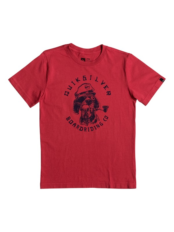 0 Troubled Vision - T-Shirt Red AQKZT03226 Quiksilver