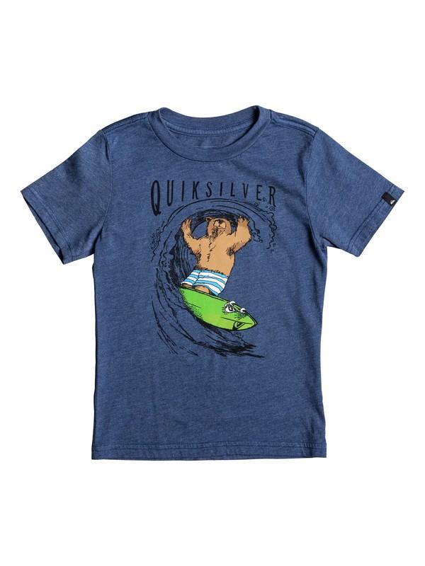 0 Boy's 2-7 Bear Shred Tee  AQKZT03231 Quiksilver