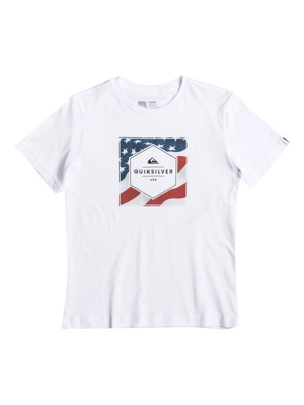 0 Stars And Stripes - T-Shirt  AQKZT03233 Quiksilver