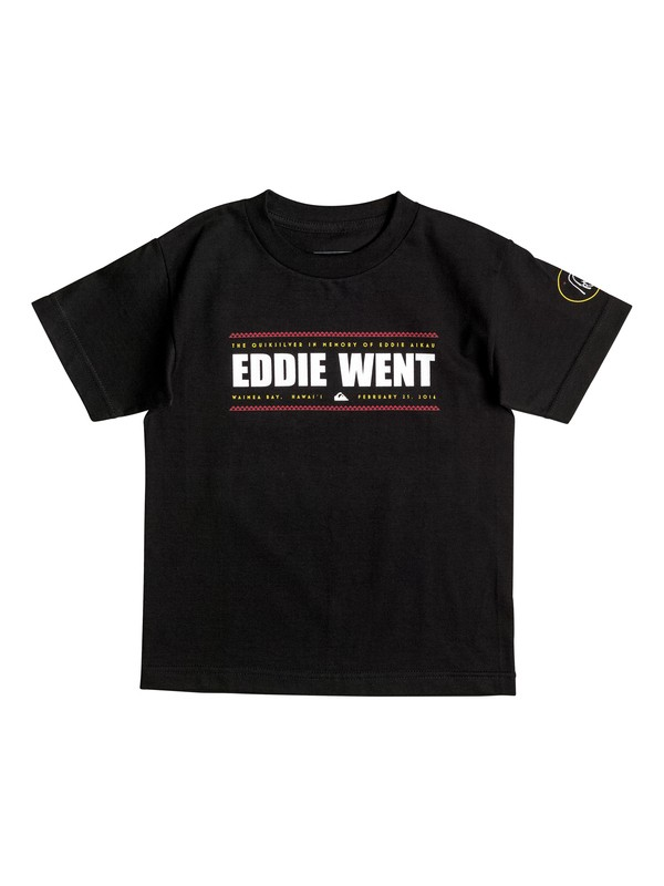 0 Boy's 2-7 Eddie Went T-Shirt  AQKZT03237 Quiksilver